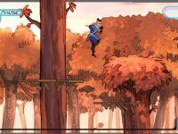 Flucht Über den Bäumen