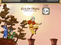 Avatar Aang auf der Säulen